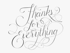 thanks for everything- Iris Sprague communication arts typographic annual #lettering #copperplate #annual #typographic #arts #communication #hand