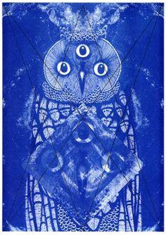 Nocturnal : Jamie Reid #reid #jamie #print #noctural #poster