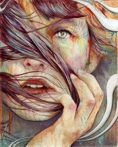 Paintings by Michael Shapcott » Design You Trust – Social design inspiration! #paint #design #art