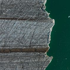 but does it float #water #aerial #cracks #glacier #photography #ice