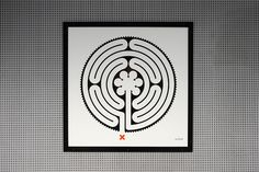 Creative Review Mark Wallinger's Underground Labyrinth #labyrinth #art #underground