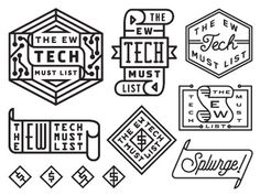 Entertainment weekly tech badges