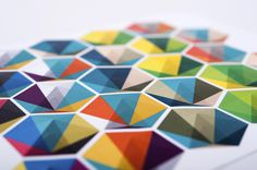 PIGMENTPOL on Behance #print #design #graphic #triangles