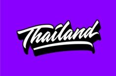 Thailand Custom Lettering