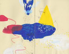 aaronbillings 10 #red #primary #yellow #sketchbook #blue #drawing #sketch
