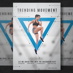 Fitness flyer template Free Psd. See more inspiration related to Brochure, Flyer, Poster, Mockup, Cover, Template, Woman, Sport, Fitness, Health, Gym, Leaflet, Sports, Women, White, Mock up, Running, Body, Booklet, Healthy, Document, Exercise, Print, Training, Identity, Page, Female, Workout, Lifestyle, Fit, Athlete, Movement, Cardio, Athletic, Mock and Sporty on Freepik.