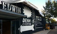 Surplus Paint Job #edwin #conifer #mural #ornamental