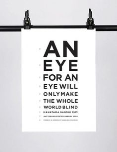 Posters – Magdalena Czarnecki #gandhi #print #czarnecki #magdelena #poster #typography