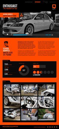 QCARS.TV Concept work on Behance #charts #branding #graphics #automotive #infographics #london #website #info #data #identity #film #logo #web