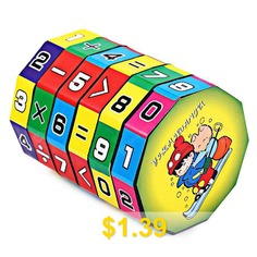 6-layer #7.2cm #Height #Puzzle #Cube #Education #Learning #Math #Toy #for #Children #- #COLORFUL