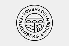 Korshags by Kurppa Hosk #logo #mark #symbol #circle