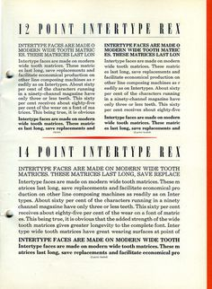 Rex was a newspaper typeface created by Intertype in 1926. #type #specimen #typography