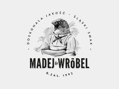 Madejandwrobel #logotype #meat #identity #branding