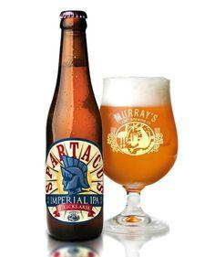 Murray's Spartacus Imperial IPA #packaging #beer #label #bottle