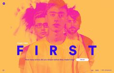 Found Them First, inspiration N°377 published on The Gallery in date September 9th, 2015. #website