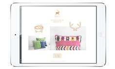 Adela on Behance #page #ipad #mexico #product #textile #adela #web