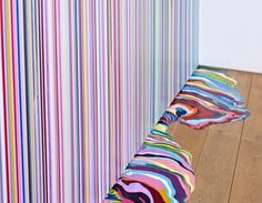 Osc▲r - Ian Davenport - Puddle Painting 2011 #ian #color #davenport #painting #art #puddle #colour