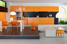 Kitchen Design Do's and Don'ts – InteriorZine #interior #kitchen #orange #design