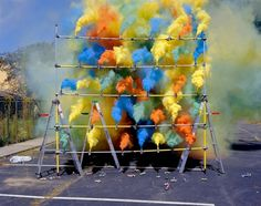 SMOKE BOMBS #breunning #olaf #art