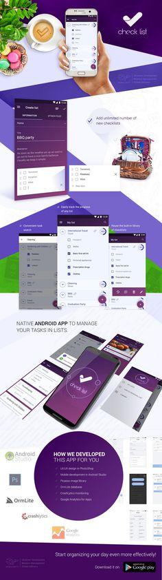 Make your day effective with free #taskmanager #checklist #app https://mobilunity.com/portfolio/checklist-android-app-development/
