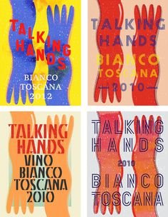 Talking Hands Concepts #illustration #design #graphic #typography