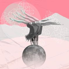 "''L'EQUILIBRE"" © ceren kilic 2012 #kilic #ceren #design #print #illustration #art"