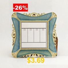 European #Light #Switch #Sticker #Square #Outlet #Decor #For #Living #Room #Bedroom #Ornament