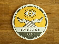 Dribbble - Insites Coaster by Aaron Robbs #aaron #robbs #dribbe #insites #coaster