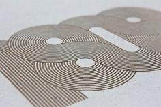 John Barton #graphic #cardboard #laser etch
