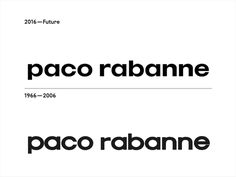 paco rabanne #fashion #brand #blackandwhite