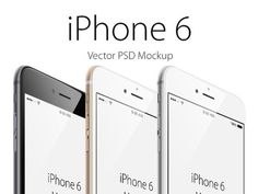 Free Vector iPhone 6 Mockup