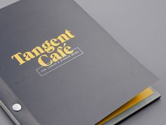 fivethousand fingers  | http://fivethousandfingers.net #type #booklet #menu