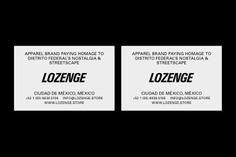 LOZENGE on Behance