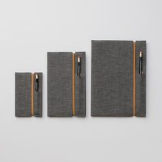 Selvedge Chambray Notebook Cover.