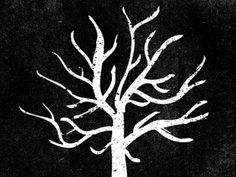 Dribbble - The Unpardonable Sin by Jim LePage #white #unpardonable #tree #sin #black #the #illustration #and #logo