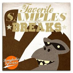 Bongholio Iglesias - Favorite Samples and Breaks Listen here: http://i.mixcloud.com/CHQzRq #illustration #gorilla #music #groove #beats