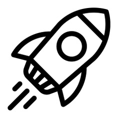 See more icon inspiration related to rocket, startup, transport, space ship and transportation on Flaticon.
