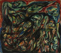 Asger Jorn, Vårens Offer II, 1952