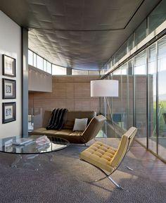 House Located in Desert Hillside