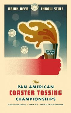 Oh Beautiful Beer Blog | Allan Peters' Blog #beer #design #retro #poster
