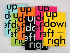 design work life » Robert Finkel: Up, Down, Left, Right Exhibition #cover #magazine