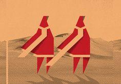 Bygone Bureau - Cory Schmitz #cory #bureau #illustration #bygone #schmitz