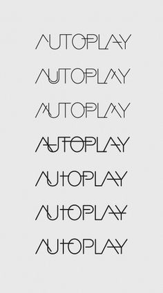 Autoplay on the Behance Network #logo #design #graphic #gray
