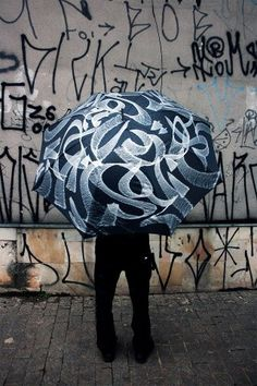 Tumblr #calligraphity #umbrella