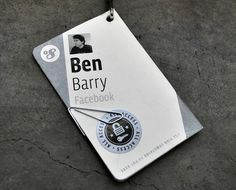 Fonts In Use – f8 Conference Badges #facebook
