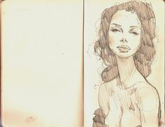 .... | Flickr - Photo Sharing! #sketcbook #illustration #woman