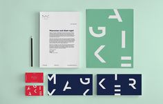 Magic Maker Co. on Behance #logotype #palette #brand #identity #type