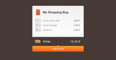 Orange shopping settlement interface design Free Psd. See more inspiration related to Design, Shopping, Orange, Bag, Shopping bag, Psd, Material, Interface, Horizontal, Settlement, Interface design and Psd material on Freepik.