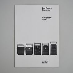 Der Braun Sammler issue 6 | Flickr Photo Sharing! #cover #braun