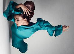 Andreea Diaconu by Sølve Sundsbø for Vogue Italia